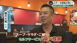 義元大蔵やっぱりステーキ社長wiki経歴!結婚や年収は?東京の店舗場所や評判はうまい?